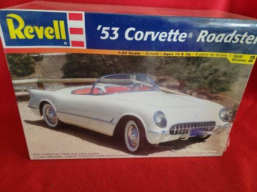 53 Corvette Roadster Revell Model - $10.00
