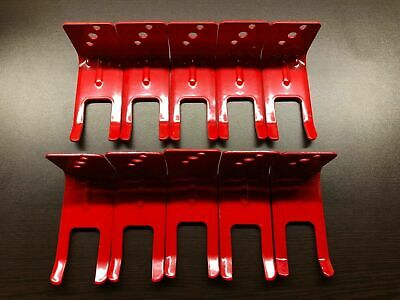 10-fork Style Wall Mount 10 Lb. Size Fire Extinguisher Amerex Brackets New