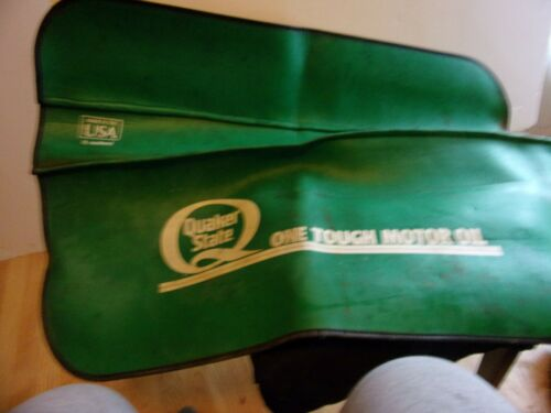 QUAKER STATE ONE TOUGH MOTOR OIL FENDER AUTO GUARD PROTECTOR ADVERTISING VINTAG