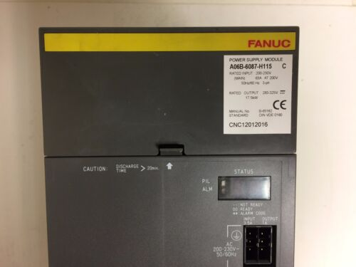 Fanuc A06b-6087-h115 Power Supply Fully Refurbished!!! Exchange Only