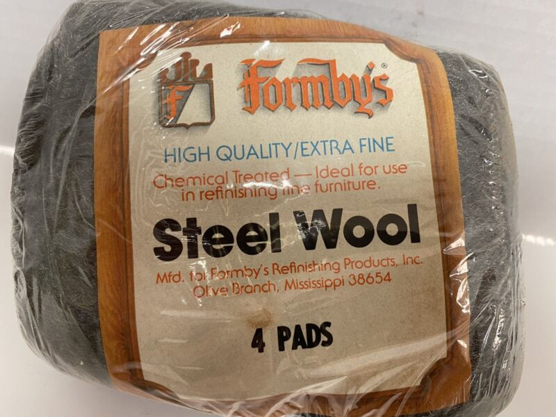 Vintage Formbys High Quality Extra Fine Refinishing Steel Wool