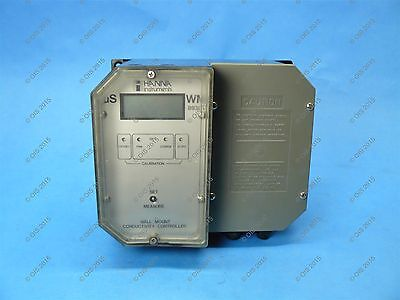Hanna Wm8930u Wall Mount Conductivity Controller 115 Vac 0-10k Range Warranty
