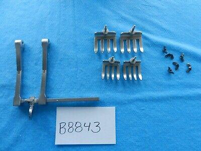V. Mueller Orthopedic Spine Haverfield-scoville Hemilaminectomy Retractor Set