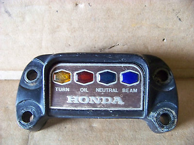 Early 1970's  Honda 4 cylinder CB  350   550 750 Indicator light cover