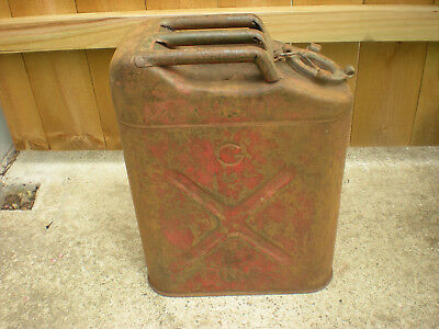 Vintage 1951 Usa 5 Gallon Jerry Gas Can