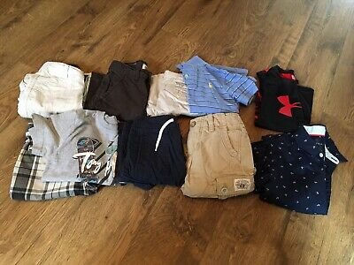 Boys Size 5 / 5T Summer Clothes~Shirts /Shorts~Lot Of 10~EC~Gap,Polo, Levi's &