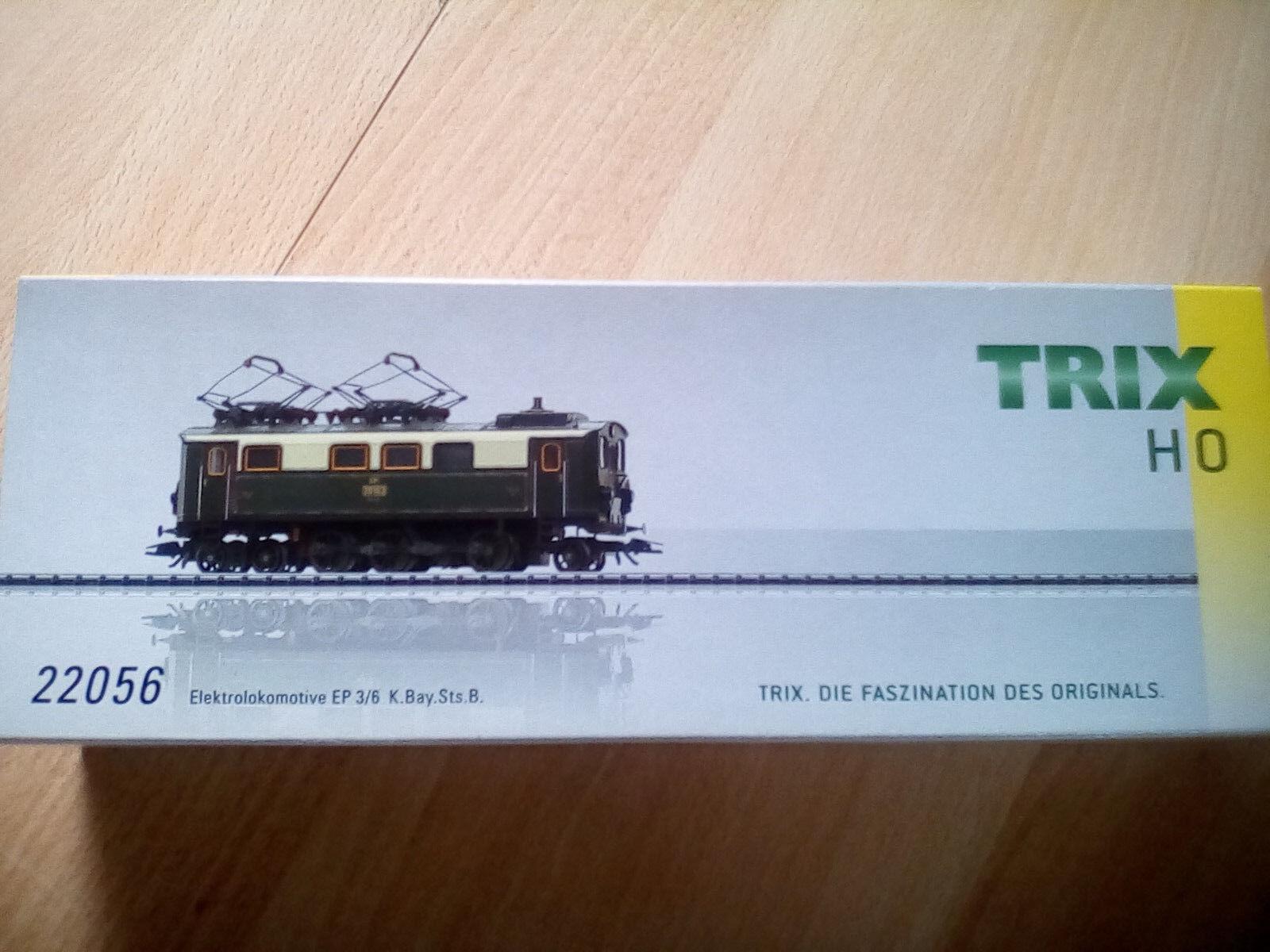 Trix 22557 Elok EP 3//6 K.Bay.Sts.B Spur H0 OVP
