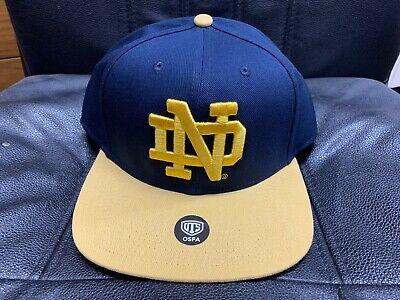 Notre Dame Irish (Notre Dame Fighting Irish Gallant OTS Varsity Hat NWT OSFA Rudy CAP)