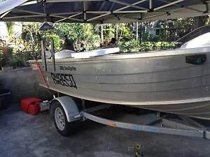 2008 14ft Stacer 380 Sea Sprite tinnie & 20hp Yamaha outboard Ipswich Ipswich City Preview