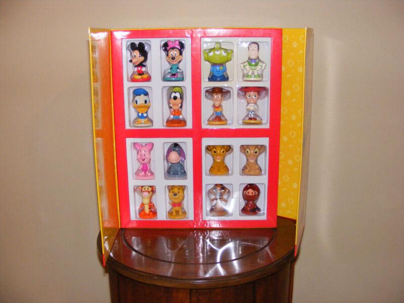 KELLOGGS DISNEY MINI BOBBLE HEADS COLLECTION 2003 ORIGINAL BOX SEALED NIB