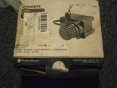 New Little Giant Submersible Pump Pe-2.5f Series 518969