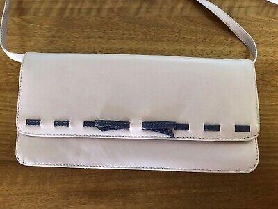 Jacques Vert Lilac Clutch Shoulderbag - Evening Wear
