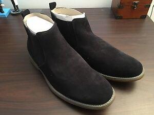 Hush Puppies Turner Navy Suede Boot Geelong Geelong City Preview