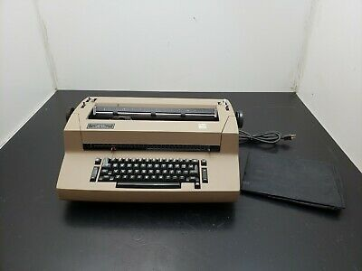 Ibm Selectric Ii Electric Typewriter Grey Tan Tested Condition Pick Up Only
