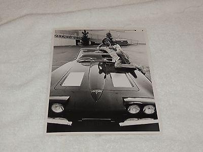 Bob Weir - 8 x 10 Original Photo Print - Lounging on Car - Cool and Rare!