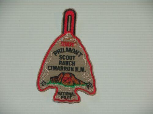Philmont - Wood Badge national pilot staff arrowhead