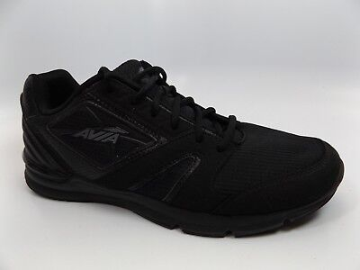 683df4e27c3a AVIA MEN S Athletic Sneakers Memory Foam Black SZ 11.5 M PRE OWNED D9696