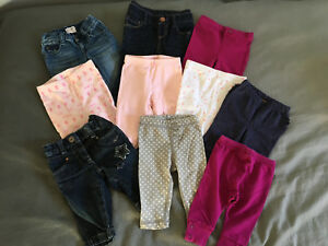 Girls pants size 3-6 months