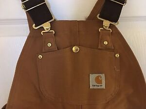 Carhartt (youth Large 10/12)  Bib Overall....NEW!