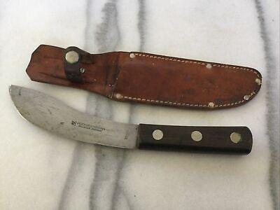 """VTG J.A. Henckels Twin works Solingen Germany SkinningKnife 55-5 1/2"""" W/ Sheath"""