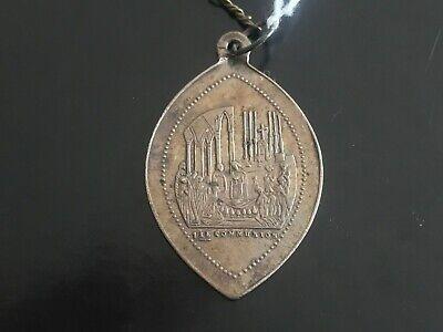 Pendant Medal Religious Solid Silver 1ERE Premiere Communion - REF51620