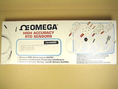 Omega Rtd-3-f3105-36-g-b Rtd Elements With 36 Lead Wire Lot Of 5