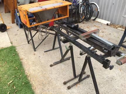 Triton work bench mk3  Comes with saw, dust collector, ozito mitr