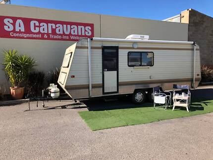 JAYCO 20' CARAVAN with AIR CONDITIONING Klemzig Port Adelaide Area Preview