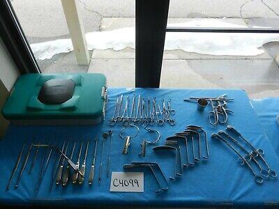 Codman V. Mueller Weck Surgical Ent Instrument Set W Case