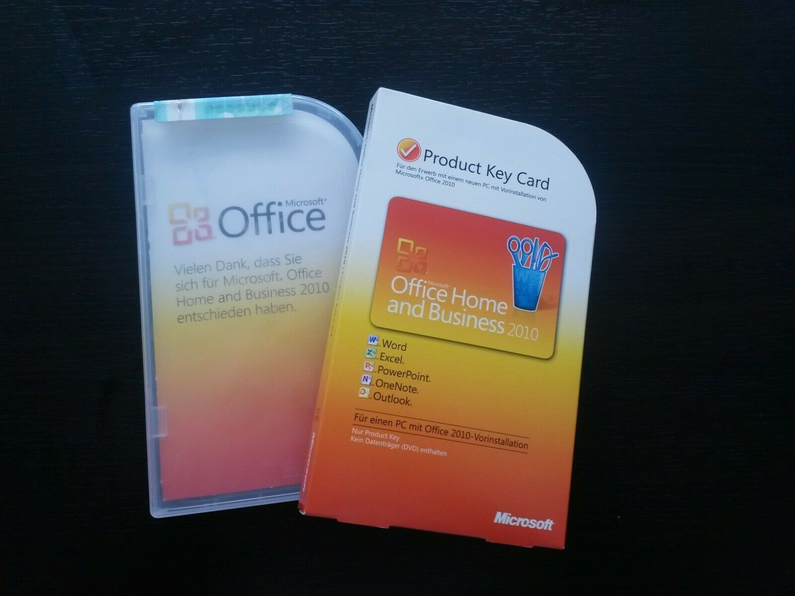 Microsoft Office Home and Business 2010 Vollversion PKC 32 / 64-bit 1PC