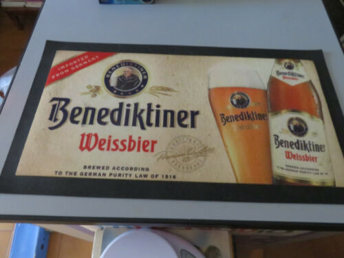 Tablecloth Placemat Rigid Towel Pub Brewery Collection Benediktiner Weissbier