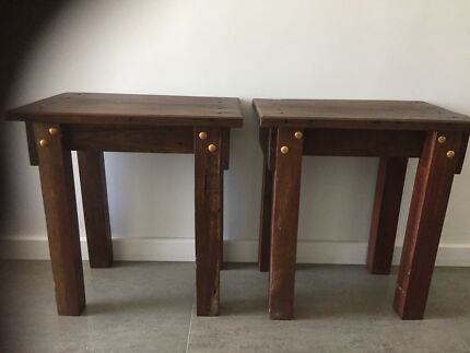 Bedside tables. Bedroom furniture   Bedside Tables   Gumtree Australia Rockingham