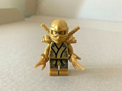 Genuine Lego Ninjago Lloyd Golden Ninja Armor Swords njo073 71239 70505 70503