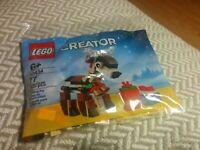 Limited Lego 40434 Reindeer Exclusive Sealed Bag