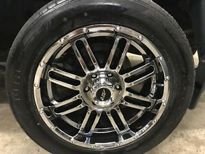20 by 10's American racing wheels for sale