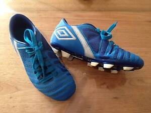 Soccer Boots Size 1 and Shin Pads size small Castle Hill The Hills District Preview