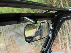 Polaris-Ranger-XP900-UTV-REAR-VIEW-MIRROR-Heavy-Duty-Wide-Angle-Adjustable-New
