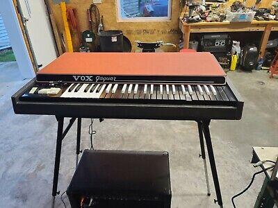 1967 VOX Jaguar Keyboard No Reserve!