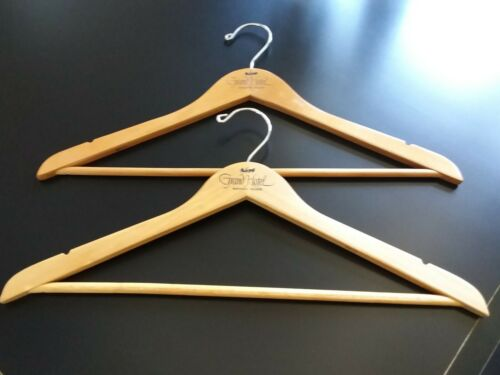 Wood Hangers from the Grand Hotel on Mackinaw Island