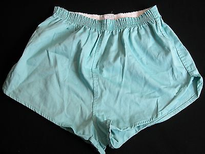 Vtg 1980s NOS NIKE Gym Running Sport Shorts Sz M Beach Surf Pastel Green