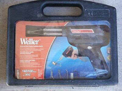 Weller Heavy Duty 8200pk Universal 140100 Watt Soldering Gun Kit- New Surplus