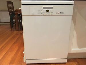 MIELE G4420 SC - FREESTANDING DISHWASHER - WHITE Cammeray North Sydney Area Preview