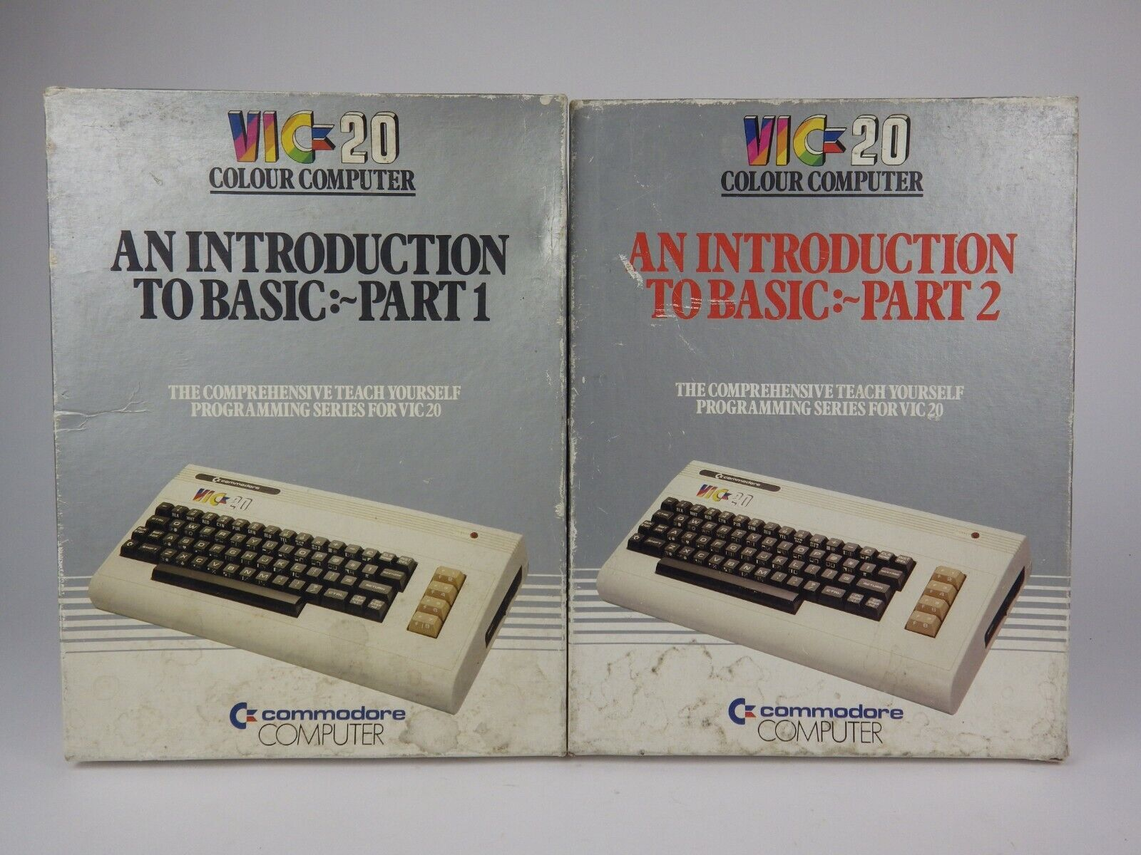  Boxed Commodore VIC 20 Introduction to BASIC Part…