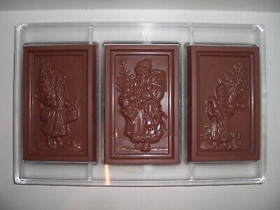 NEU SCHOKOLADENFORM WEIHNACHTEN NIKOLAUS NEW chocolate mold ANTON REICHE 519