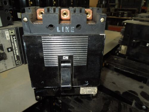 Square D Type Ml-1 999316 100a 3p 600vac Circuit Breaker Used
