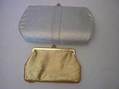ertaschen Partytaschen Gold und Silber 70er? vintage (Kleine Party-taschen)
