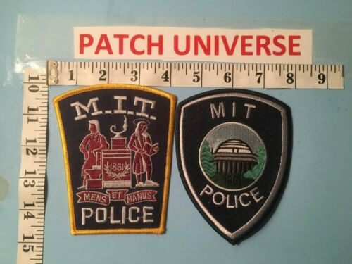 LOT OF 2 MASSACHUSETTS  INSTITUTE OF TECHNOLOGY  SHOULDER PATCHES  E081