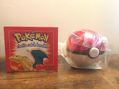 Pokemon Burger King 23k gold plated trading card Charizard - Sealed in red box