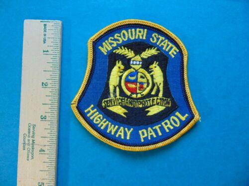 MISSOURI STATE HIGHWAY PATROL OBSOLETE POLICE PATCH