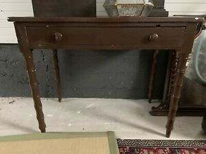 Vintage Bamboo Style Wooden Table
